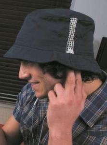345.34 Sportowy kapelusz z wstawkami z siatki
