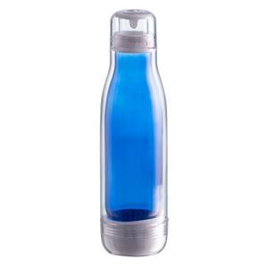 Butelka szklana z osłoną Smart 520 ml, niebieski R08269.04