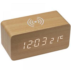 Zegar biurkowy z ładowarką indukcyjną 3151513