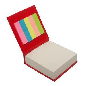 Blok z karteczkami, czerwony R73674.08