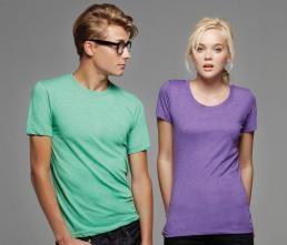 122.06 Damski T-shirt Triblend Bella 8413