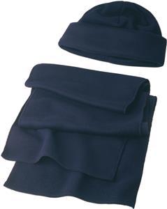 Zestaw zimowy, czapka i szalik
