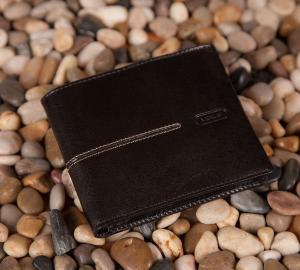 Męski portfel Verus London 05 czarny