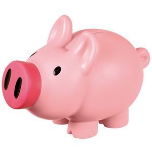 Skarbonka Piggy, różowy