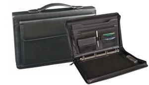 Biwuar A4 Biznes z rączką i boczną kieszenią