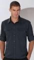 718.00 Koszula z podwijanymi rękawami (długie rękawy) R-918M-0
