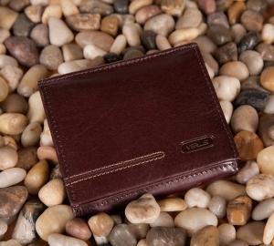 Męski portfel Verus London 08 brązowy