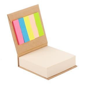 Blok z karteczkami, beżowy R73674.13
