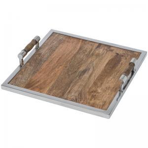 Drewniana taca kwadratowa 8055101