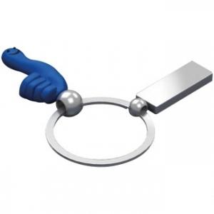 Brelok metalowy z rączką CrisMa Smile Hand 9342504