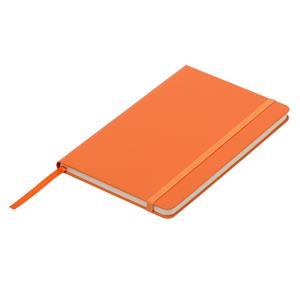 Notatnik 130x210/80k kratka Asturias, pomarańczowy