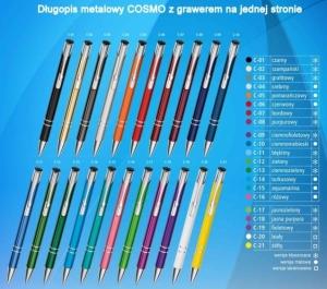COSMO Długopis metalowy z grawerem min. 500 szt.