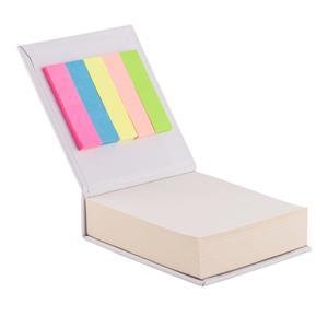 Blok z karteczkami, biały R73674.06