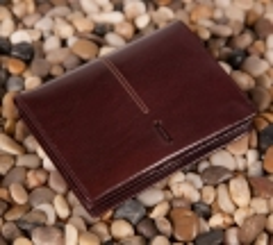 Męski portfel Verus London 59 brązowy