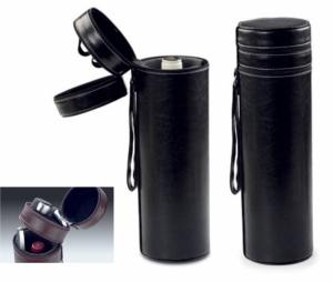 Tuba na wino z akcesoriami z imitacji skóry
