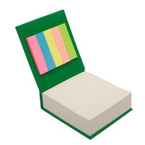 Blok z karteczkami, zielony R73674.05