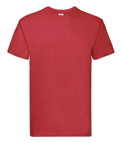 T-shirt z nadrukiem Fruit of the Loom Super Premium 61-044-0