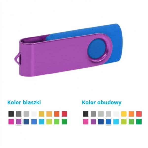 Pamięć USB Twister, pojemność 2GB, 4GB, 8GB, 16GB, 32GB, 64GB